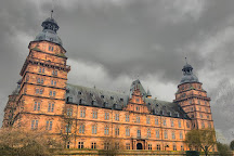 Schloss Johannisburg mit Schlossanlagen, Aschaffenburg, Germany