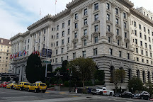 The InterContinental Mark Hopkins building, San Francisco, United States