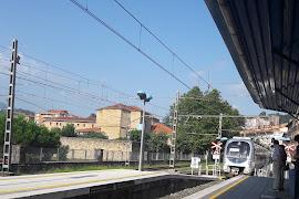 Железнодорожная станция  Zarautz