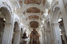 Benediktinerabtei St. Mauritius, Niederalteich, Germany