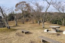 The remians of Iwaya Castle, Dazaifu, Japan
