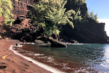 Red Sand Beach (Kaihalulu Beach), Hana, United States