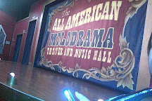 The All American Melodrama Theater and Music Hall, Long Beach, United States