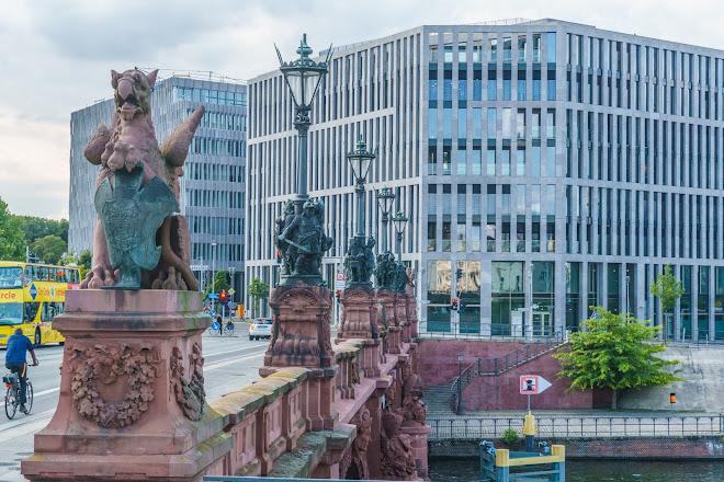 Moltkebrucke, Berlin, Germany