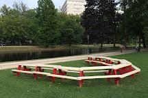 Parc Leopold, Brussels, Belgium