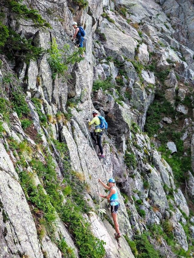 Via Ferrata des Evettes - La Flégère Chamonix-Mont-Blanc