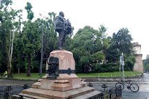 Monumento a Giuseppe Dezza, Milan, Italy
