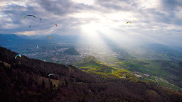 Gaisberg 1 Paragliding