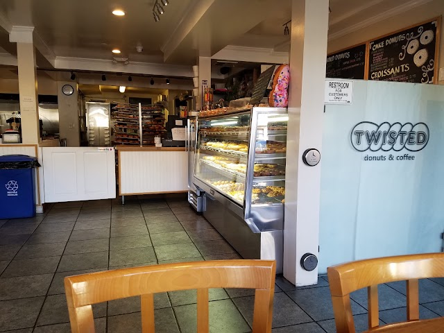 Twisted Donuts and Coffee