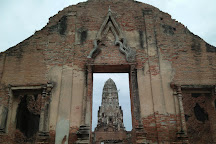 Temple of the Royal Restoration (Wat Ratchaburana), Ayutthaya, Thailand