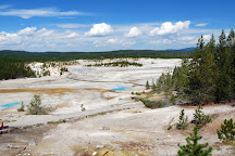 Norris Geyser Basin, Yellowstone National Park, United States