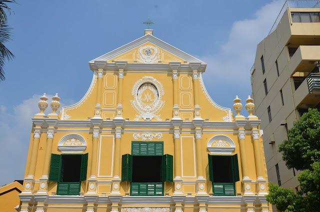 玫瑰堂, Igreja de São Domingos