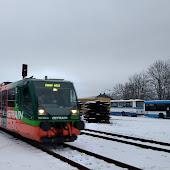 Железнодорожная станция  Český Krumlov Český Krumlov