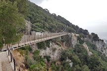 Windsor Suspension Bridge, Westside, Gibraltar