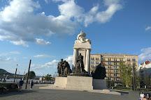 Statue of Imre Nagy, Budapest, Hungary