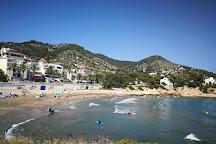 Platja d'Aiguadolc, Sitges, Spain
