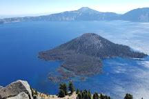Wizard Island, Crater Lake National Park, United States
