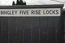 Bingley Five-Rise Locks, Bingley, United Kingdom