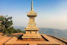 Vishwa Shanti Stupa, Rajgir, India