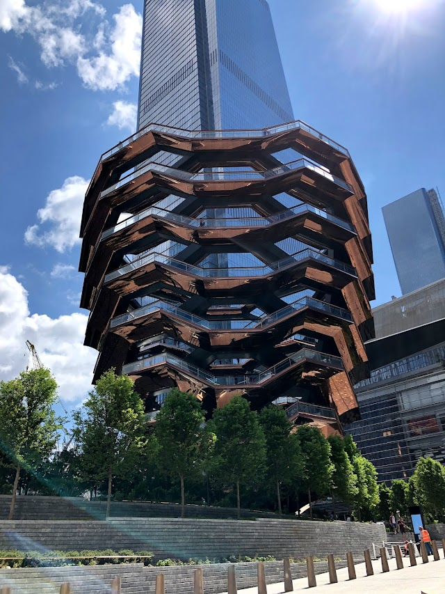 New York's Staircase in Hudson Yards