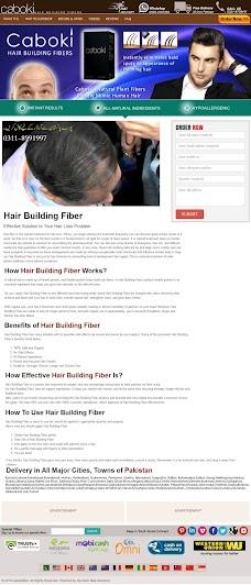Caboki hair building fibers karachi