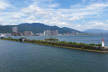 Lake Biwa Bridge, Moriyama, Japan