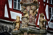St. Georgs Brunnen, Rothenburg ob der Tauber, Germany