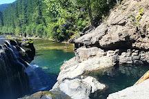 Lewis River Lower Falls, Amboy, United States