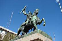 Monumento Ecuestre al General Manuel Belgrano, Buenos Aires, Argentina