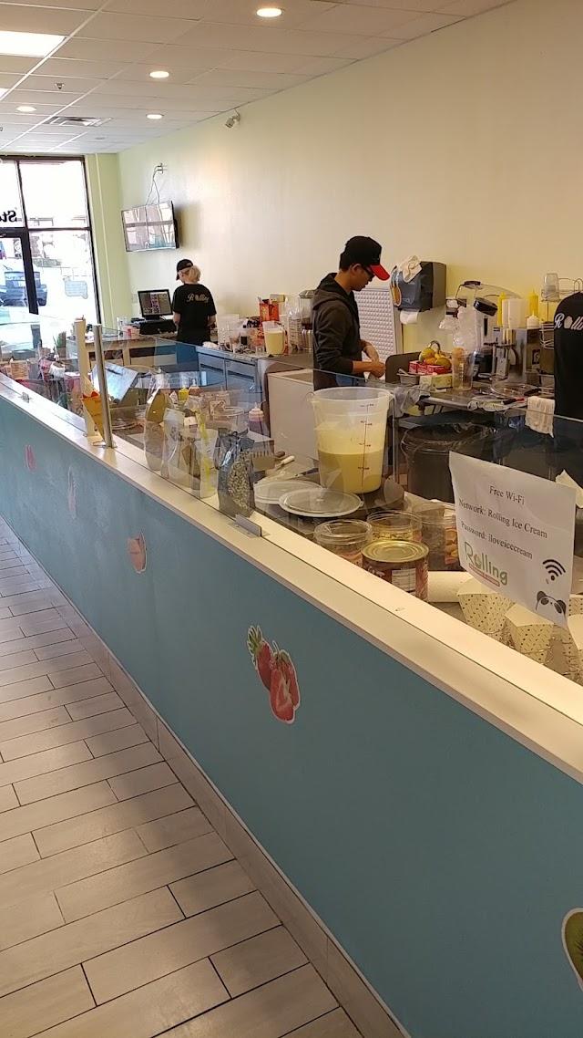 Rolling Ice Cream & Crepe