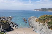 Barricane Beach, Mortehoe, United Kingdom