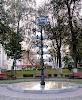 Памятник городам побратимам Гомеля на фото Гомеля