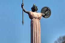 Statua della Minerva, Pavia, Italy