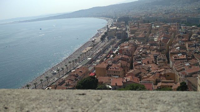 panorama sur la vieille ville de Nice