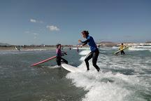 Surf Spot Famara, Lanzarote, Spain