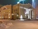 Театральный проспект, газета Благотворительного фонда им. Редлих В. П., улица Ленина, дом 24 на фото Новосибирска