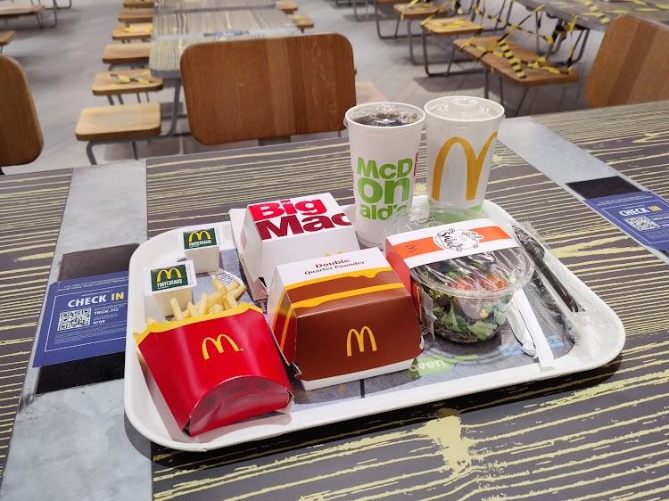 McDonald's Airport Schiphol Lounge 2 Schiphol