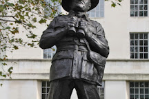 Field Marshal William Slim Statue, London, United Kingdom