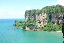 Krabi Rock Climbing, Railay Beach, Thailand