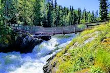 Wekusko Falls Provincial Park, Snow Lake, Canada