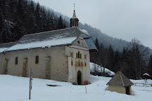 Eglise Notre Dame de la Gorge, Les Contamines-Montjoie, France