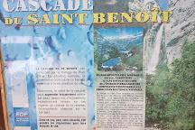 Cascade de Saint-Benoit, Avrieux, France