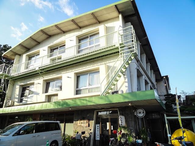 Hot water of Hanayama Onsen Yakushi