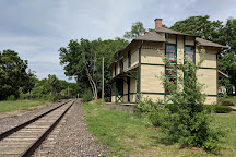 1879 Chicago & Alton RR Depot, Independence, United States