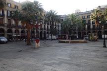 Placa Reial, Barcelona, Spain