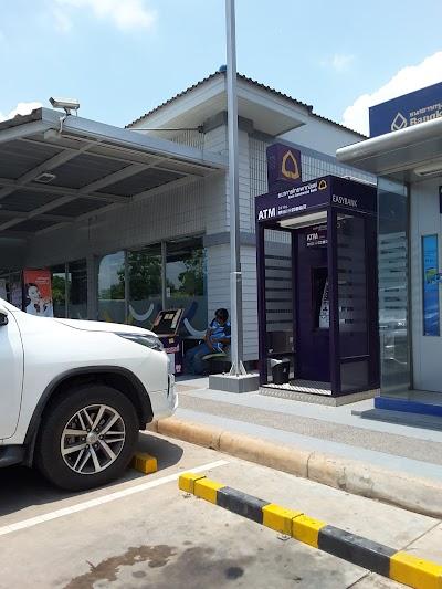 ATM ธนาคารไทยพาณิชย์ ปั๊ม PTT ฉะเชิงเทรา บางคล้า กม.13