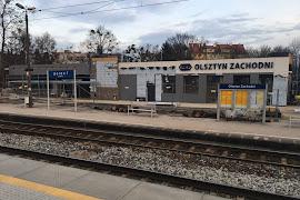 Железнодорожная станция  Olsztyn Zachodni
