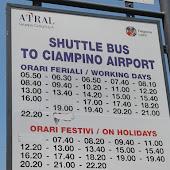 Автобусная станция   Rome Ciampino Airport