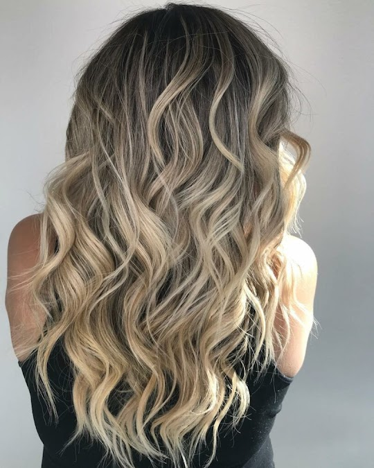 Fusion Hair Extensions on Women