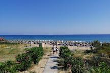 Banana Beach, Vasilikos, Greece